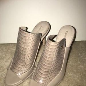 Calvin Klein High Heel Mules